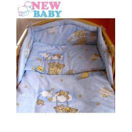 6-dílné ložní povlečení 100/135 cm New Baby modré 100/135 cm