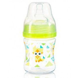 Baby ONO Antikoliková lahvička se širokým hrdlem Baby Ono - zelená