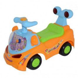 EURO BABY Odstrkovadlo,odrážedlo, jezdítko - FUNNY CAR - oranžové