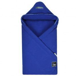 Babyrenka Zavinovačka 85x85 cm s kapucí fleece dark blue R85FFDB0305