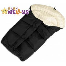 Baby Nellys Fusák nejen do autosedačky Baby Nellys ® MINKY - smetanový