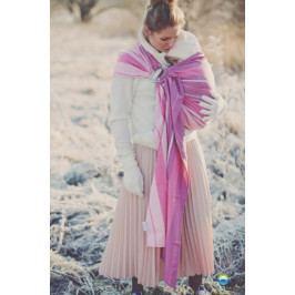LITTLE FROG Little FROG Tkaný šátek na nošení dětí -  KUNZYT