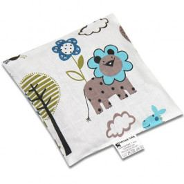 Babyrenka nahřívací polštářek z třešňových pecek Jungle tyrkys 15x15