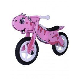 Dětské odrážedlo kolo Milly Mally DINO pink