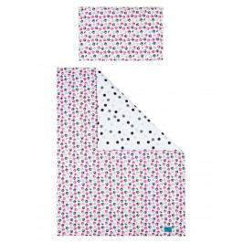 3-dílné ložní povlečení Belisima Koťátka 100/135 růžové 100/135 cm