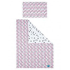 6-dílné ložní povlečení Belisima Koťátka 100/135 růžové 100/135 cm