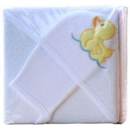 Froté ručník - Scarlett s kapucí - bílá