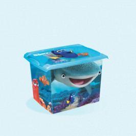 Keeeper Box na hračky, dekorační Hledá se Dory 20,5 l - modrý