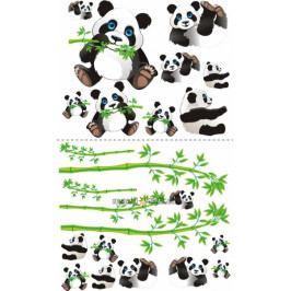 NELLYS Nálepky, dekorace na stěnu 70x100 cm - Panda