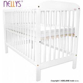 NELLYS Postýlka Nellys 120x60cm Adélka - bílá