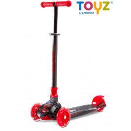 Dětská koloběžka Toyz Carbon red