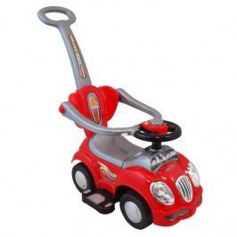 BABY MIX Odstrkovadlo,odrážedlo 2v1 BabyMix - Auto červené