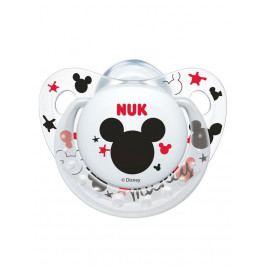 Šidítko NUK Trendine Mickey 6-18m bílé