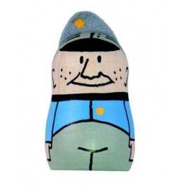 Detoa Dřevěné hračky - Magnetka Švejk s čepicí