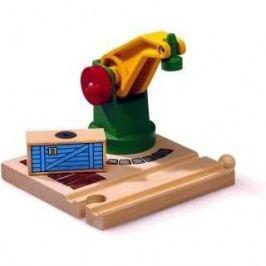 Brio Vláčkodráhy Brio - Jeřáb s magnetickým nákladem