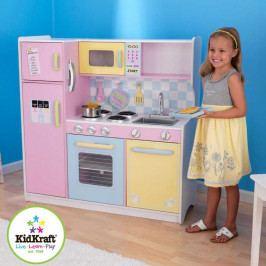 Kidkraft Dřevěné hračky - KidKraft Kuchyňka velká pastel