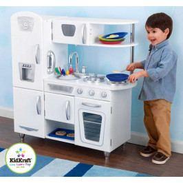 Kidkraft Dřevěné hračky - KidKraft Kuchyňka VINTAGE - bílá