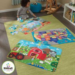 Kidkraft KidKraft velké papírové puzzle Farma