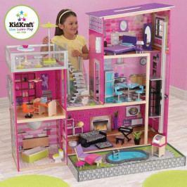 Kidkraft Dřevěné hračky - KidKraft domeček pro panenky Uptown