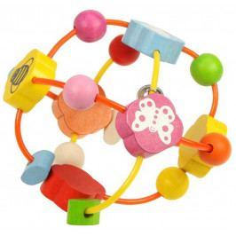 Bigjigs Toys Dřevěný motorický labyrint - Aktivní koule