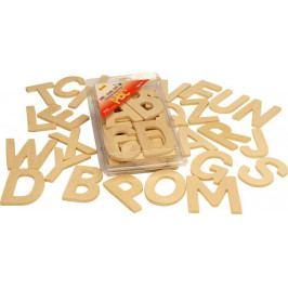 Bigjigs Toys Dřevěná tiskací abeceda- velká písmena