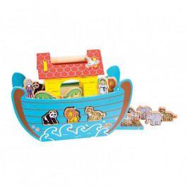 Bigjigs Toys Bigjigs dřevěná Noemova archa