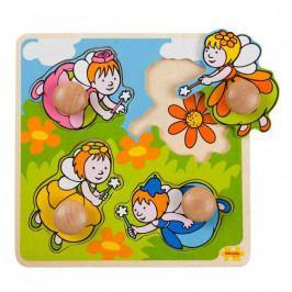 Bigjigs Toys Bigjigs Toys  Vkládací puzzle - Víly