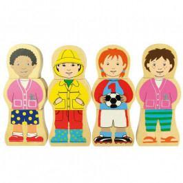 Bigjigs Toys Bigjigs Toys dřevěné puzzle - Národnosti