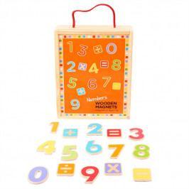 Bigjigs Toys Dřevěné hračky - Školní pomůcky - Magnetické počítání