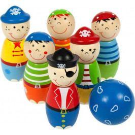 Bigjigs Toys Bigjigs Toys dřevěné hry - kuželky Piráti