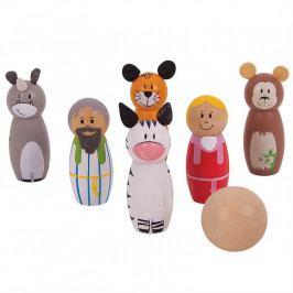 Bigjigs Toys Bigjigs Toys dřevěné hry - kuželky noemova archa