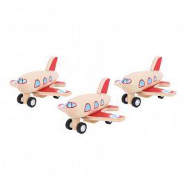 Bigjigs Toys Bigjigs Toys dřevěné hračky - Dřevěné natahovací letadlo