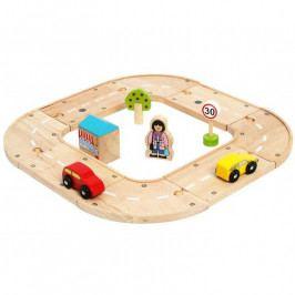 Bigjigs Rail Bigjigs Rail Moje první dřevěná autodráha