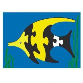 Vkládačky Dřevěné hračky - Vkládací puzzle - Vkládačka - Ryba