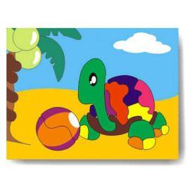 Vkládačky Dřevěné hračky - Vkládací puzzle - Vkládačka - Želva