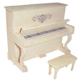 Woodcraft construction kit Dřevěné skládačky 3D puzzle - ostatní - Piáno klavír GPM005