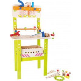 Small foot by Legler Dřevěné hračky - Profesionální velký pracovní stůl s nářadím