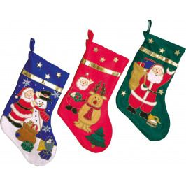 Small foot by Legler Vánoční ponožka 3 ks