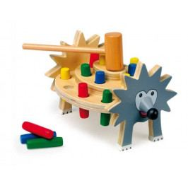 Small foot by Legler Dřevěné hračky pro kluky - Zatloukačka ježek