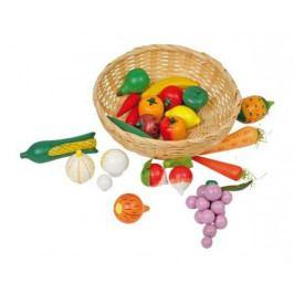Small foot by Legler Dřevěné hračky pro holky - Kuchyně - Košík se zeleninou