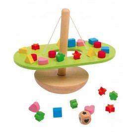 Small foot by Legler Dřevěná motorická hračka - Vyvažování - balancující houpačka