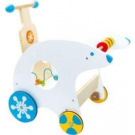 Small foot by Legler Dřevěné hračky - Didaktický vozík Lední medvěd