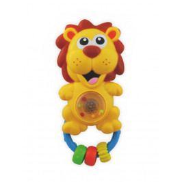 Dětské chrastítko se zvukem Baby Mix lev