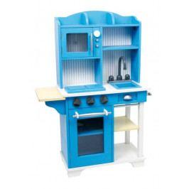 Small foot by Legler Dětská dřevěná modrá kuchyňka