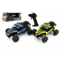 Teddies Auto RC Buggy plast/kov 20cm s adaptérem na baterie asst 2 barvy v krabici