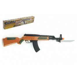 Teddies Pistole samopal na kuličky 56cm plast v krabici