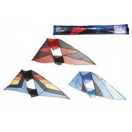 Teddies Drak létající nylon 183x81cm asst 3 barvy v sáčku