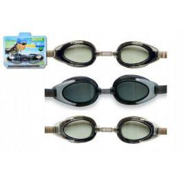 Teddies Plavecké brýle asst 3 druhy na kartě 20x15x5cm 14+