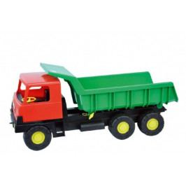 Teddies Auto Tatra 815 korba zelená kabina červená plast 75cm