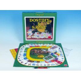 Dino Dostihy a sázky velké společenská hra v krabici 35,5x35,5x5cm